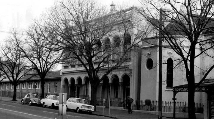 St Joseph's Receiving Home Grattan St Carlton 1960s or 70s