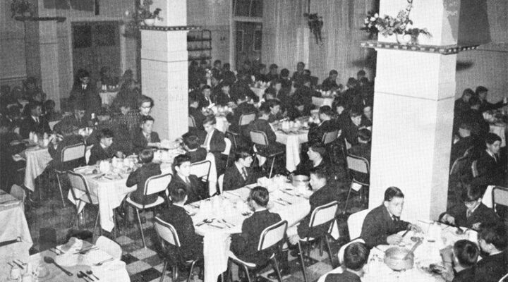 St Vincents Boys Orphanage Dining Room