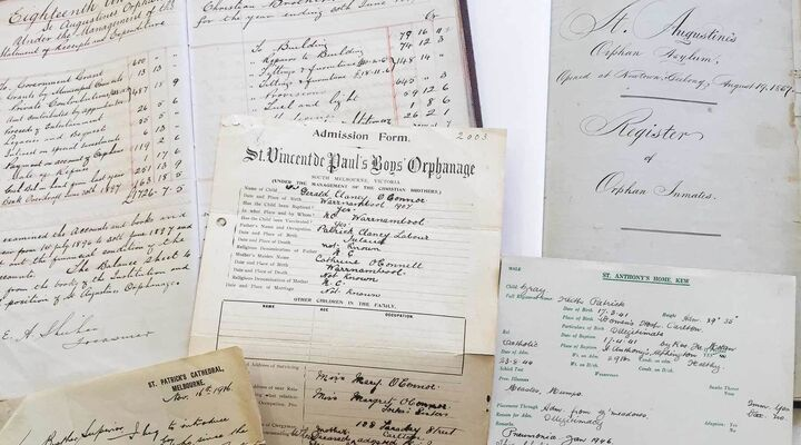 Collection Of Records from MacKillop's Archive of Former Homes and Orphanages