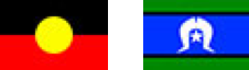 Torres Strait Islander Flag and Aboriginal Flag